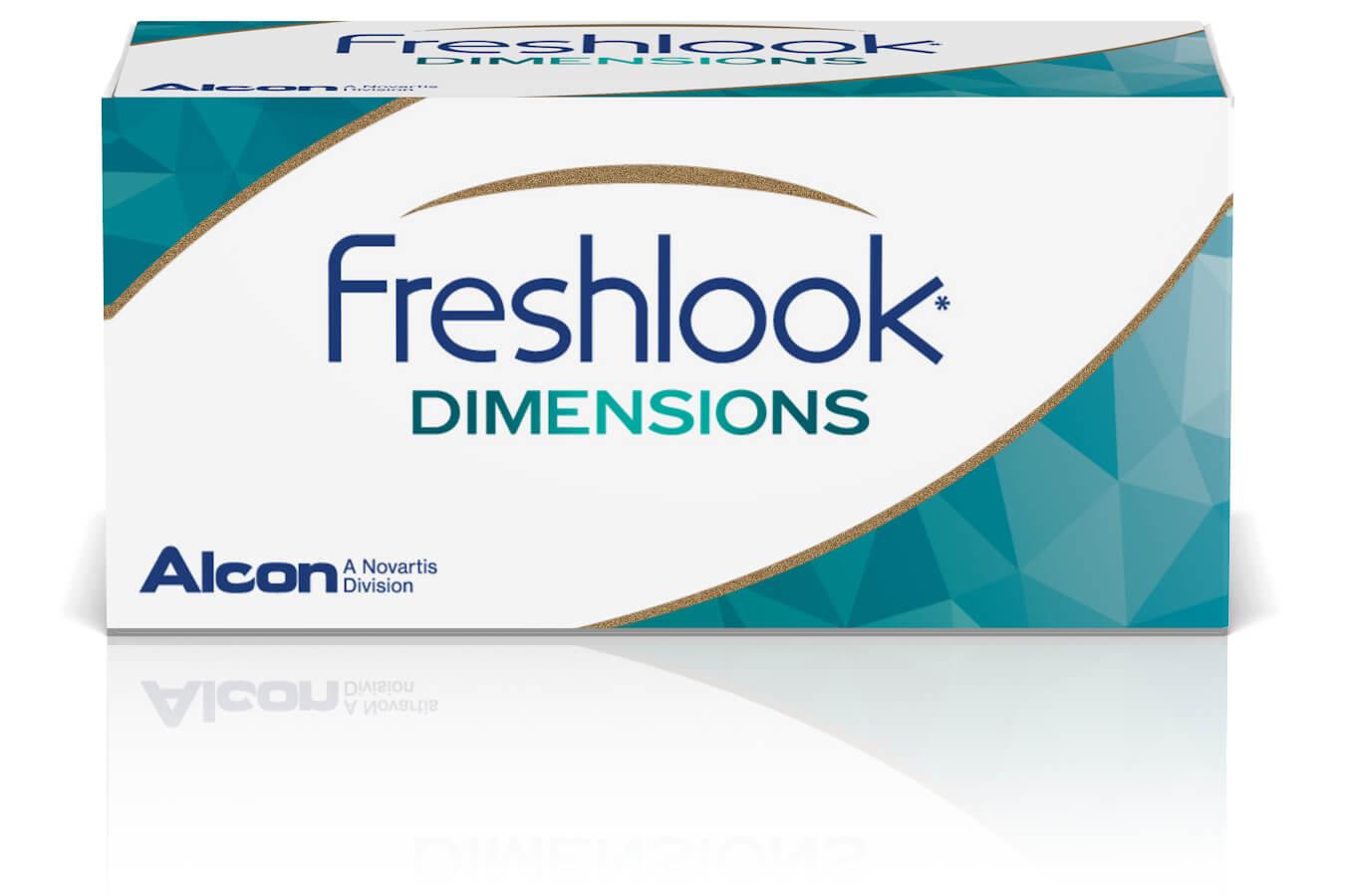 Freshlook Dimensions Zero Power