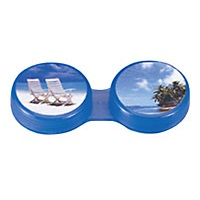Picture Cap Contact Lens Case